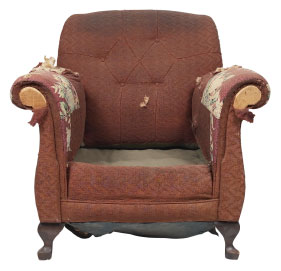 Furniture Medic of Cape Breton Upholstery and Leather Furniture Repairs and Restoration Before